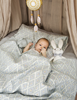 Picture of Moon Baloon Crib Set